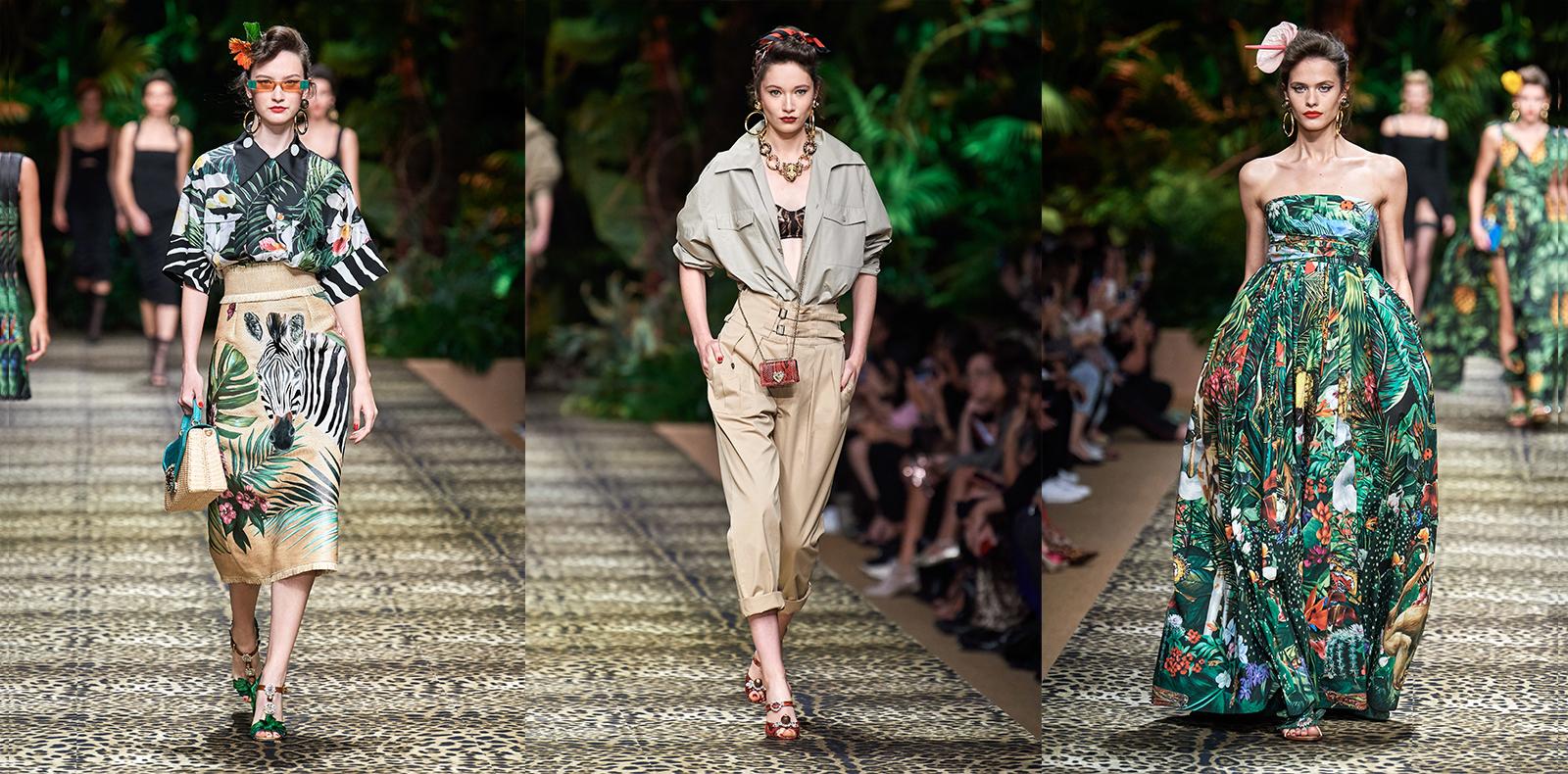 Dolce & Gabbana R-T-W Spring 2020: Cảm hứng từ thiên nhiên hùng vĩ