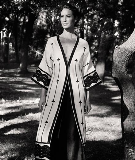 Christy Turlington và thời trang tái chế