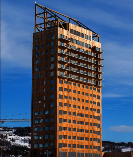 Tòa nhà cao nhất thế giới Mjösa & làn sóng nhà chọc trời