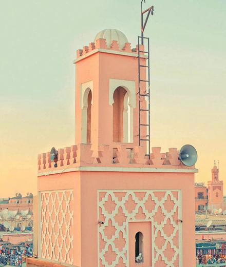 Marrakech - Thành phố rực rỡ tại Morocco