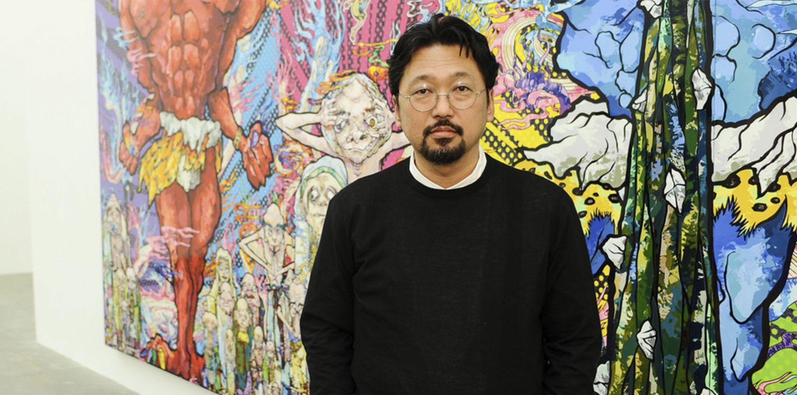 Takashi Murakami và câu chuyện đằng sau những bông hoa