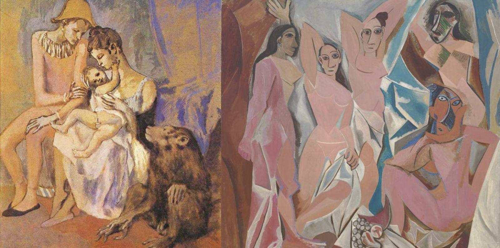 Pablo Picasso: Sự hài hoà ẩn giấu