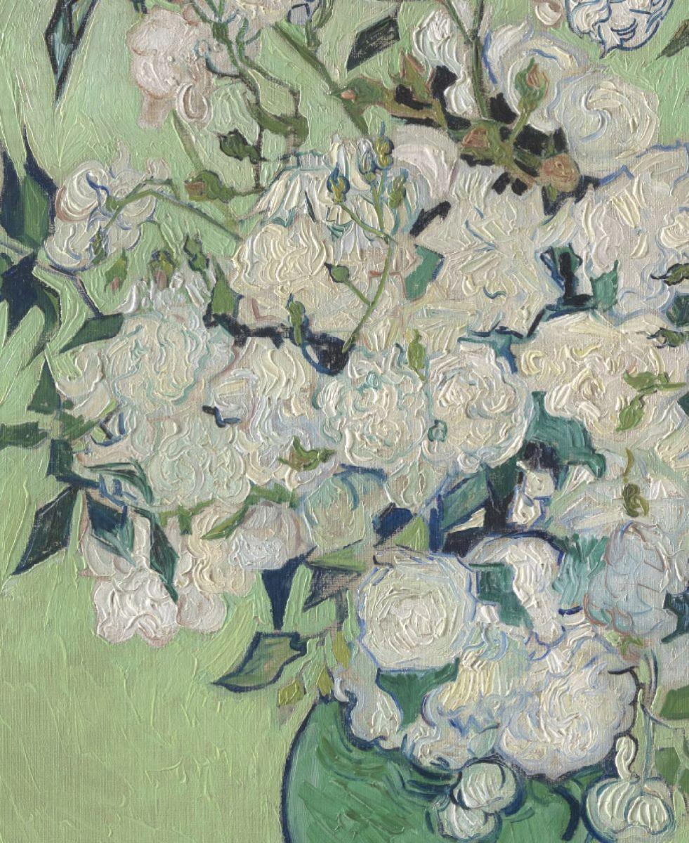 Thirza Schaap: Tái tạo bông hồng trắng của Van Gogh