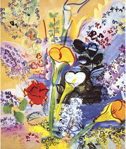 Raoul Dufy: Kĩ thuật dệt may tinh tế và trường phái nghệ thuật Fauvism