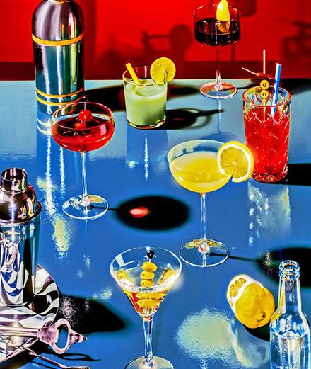 Thưởng cocktail một ngày nóng bức