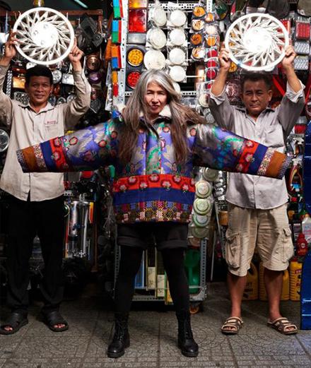 Mai Lâm - Sự giao thoa với truyền thống trong nghệ thuật đương đại