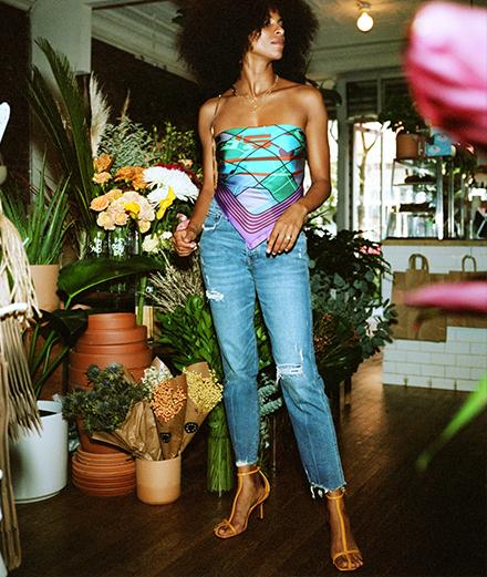 Cách mix&match với Jeans mùa lễ đầu năm