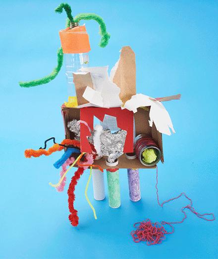 Tự tay chế tạo đồ chơi từ vật dụng trong nhà