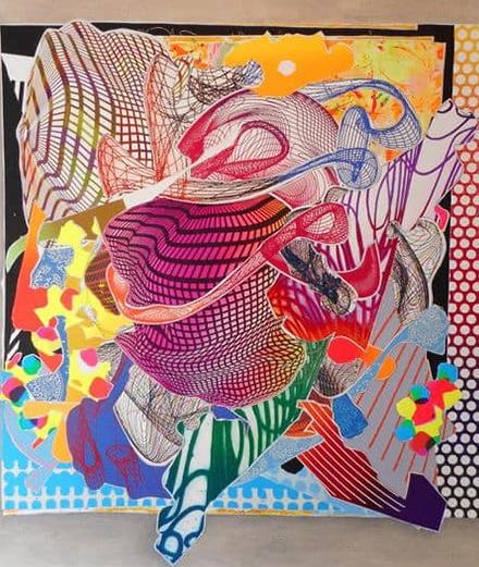 15 điều thú vị về bậc thầy trừu tượng Frank Stella