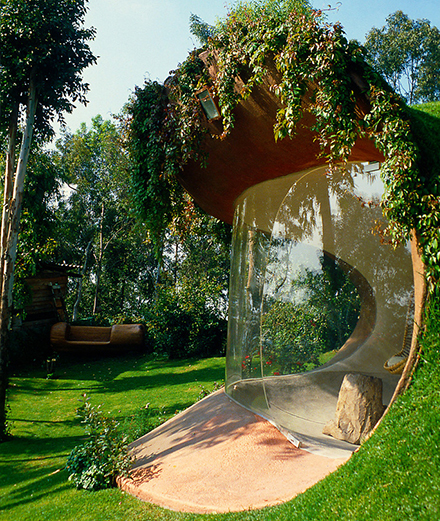 Căn nhà hữu cơ độc đáo của Javier Senosiain