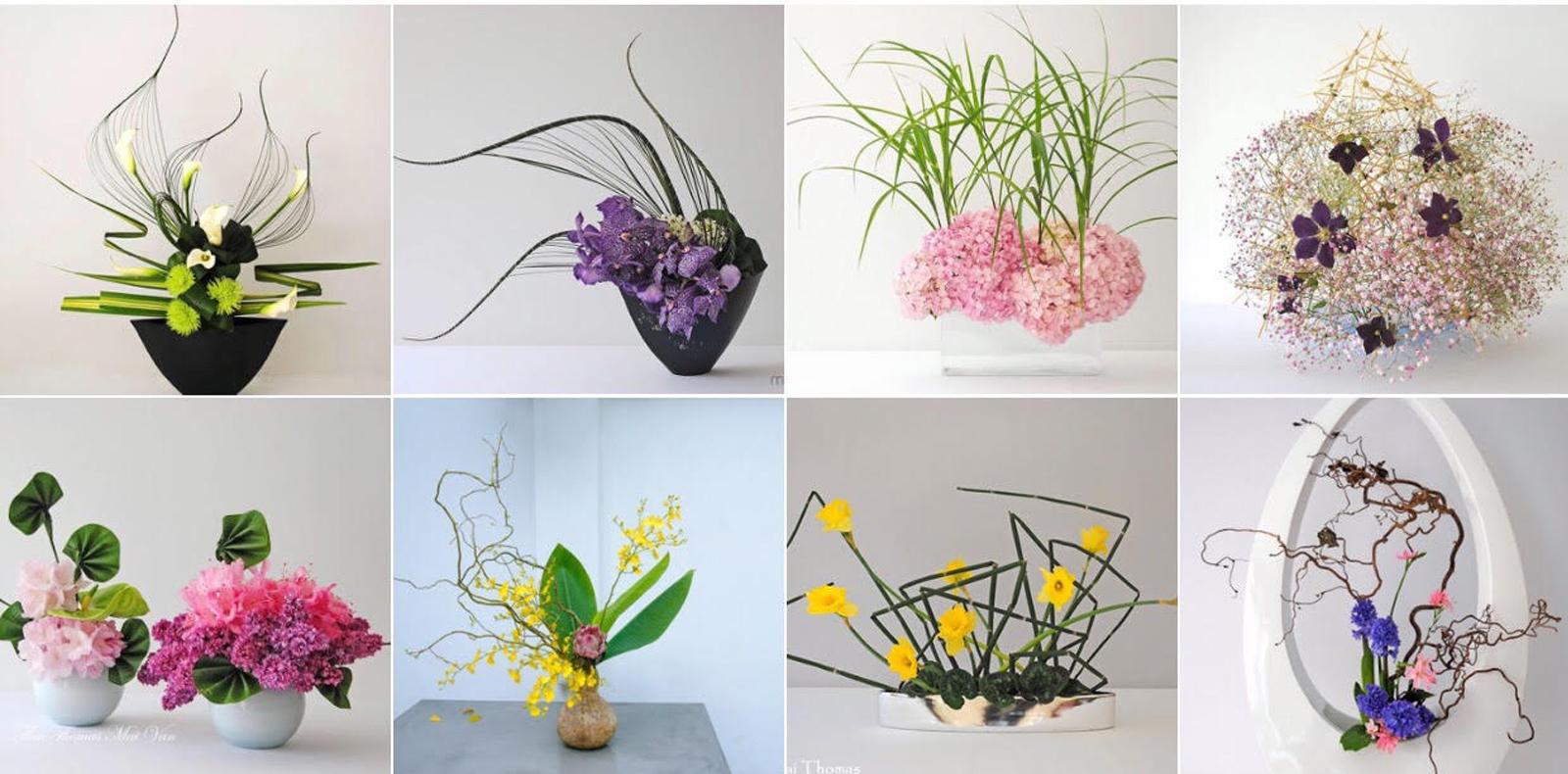 Cõi thiền thanh tịnh - nghệ thuật cắm hoa Ikebana