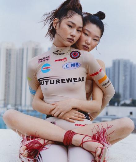 Bức chân dung thời trang hiện đại