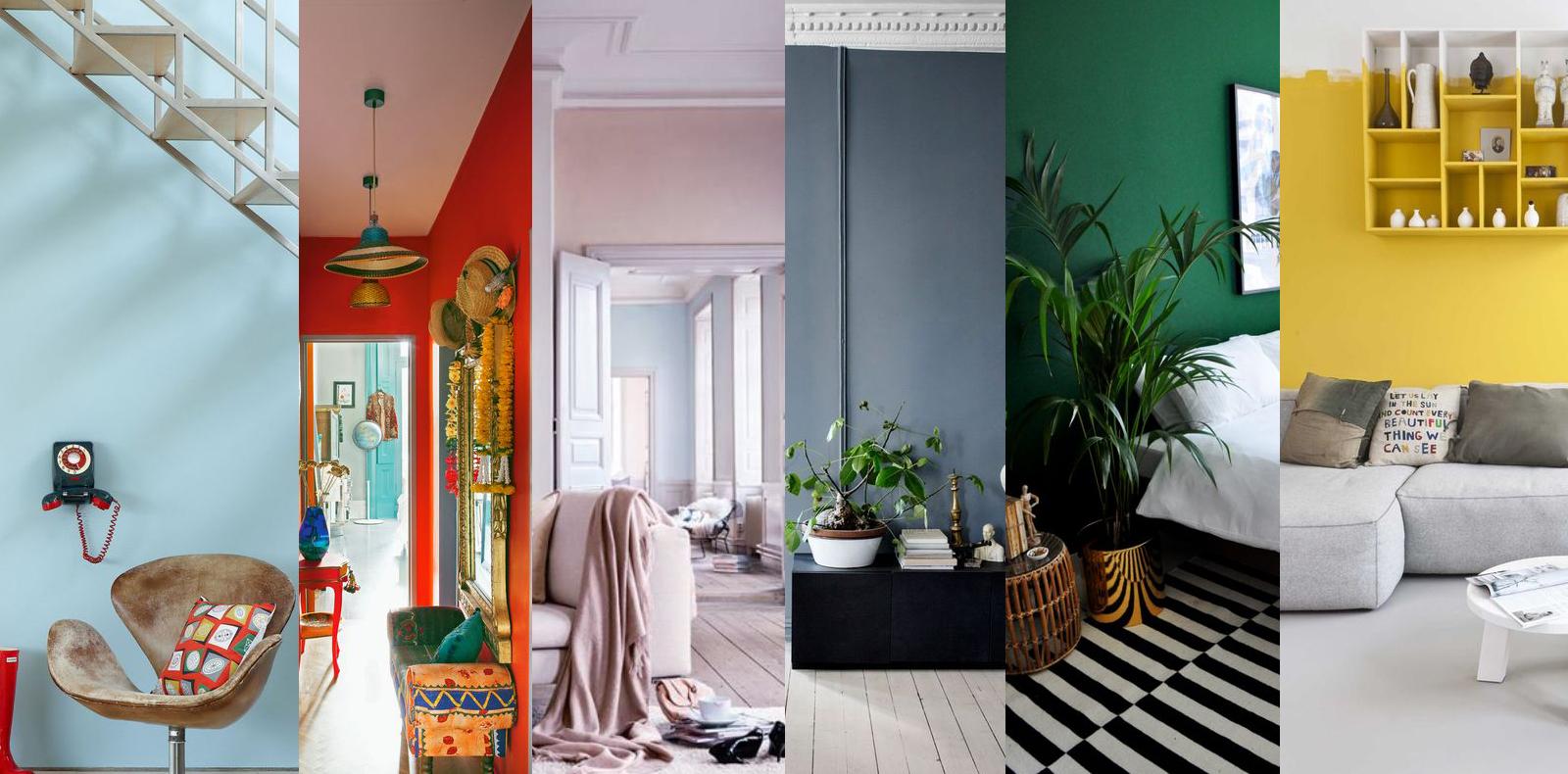 Tips 5 màu sơn tường, để đi đâu cũng muốn quay về nhà