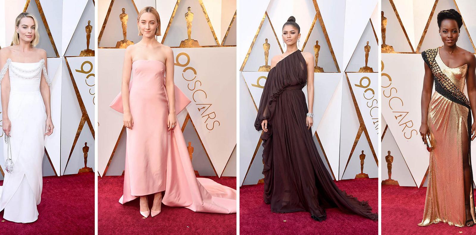 Những bộ cách xuất sắc trên thảm đỏ Oscar 2018