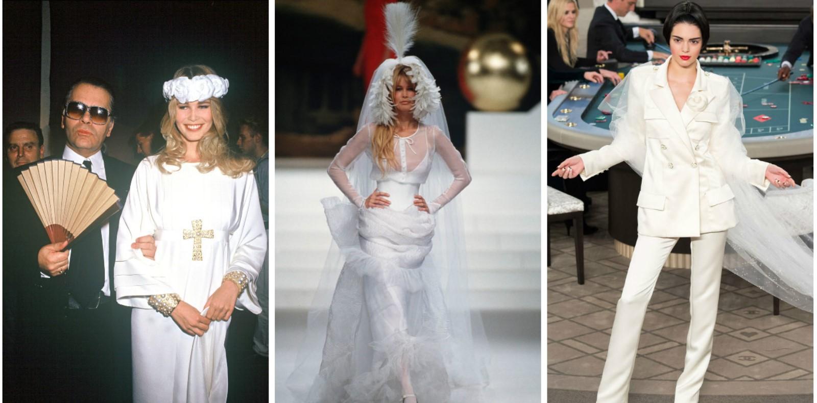 Váy cưới Chanel đẹp nhất các thời